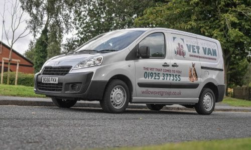 Vet Van - Warrington's mobile vet